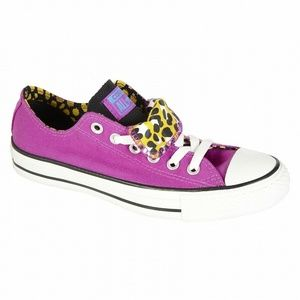 Converse Low Top Chuck Taylor Double Tongue S4